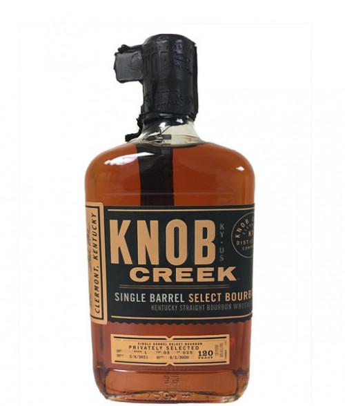 Knob Creek Single Barrel Select Bourbon 120 Proof 750ml