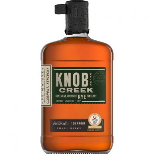 Knob Creek Straight Rye Whiskey 1L