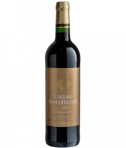 L'eglise Saint-Hilaire Red Bordeaux 750ml NV