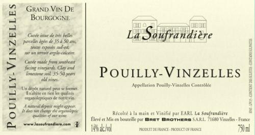 2014 La Soufrandiere Pouilly-Vinzelles 750ml
