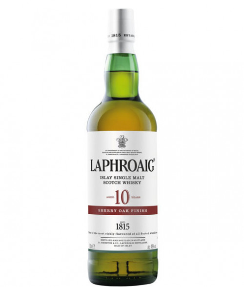 Laphroaig 10Yr Sherry Oak Finish Islay Single Malt Scotch 750ml
