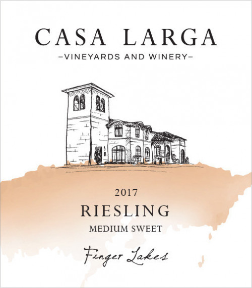 2019 Casa Larga Medium-Sweet Riesling 750ml