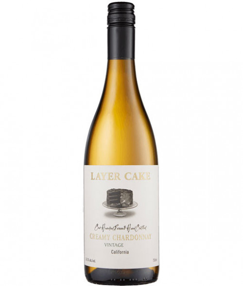 2018 Layer Cake Creamy  Chardonnay 750ml