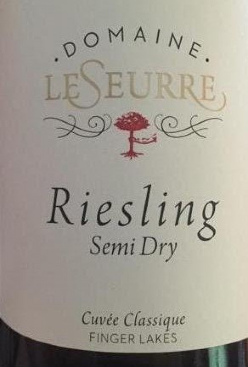 2016 Domaine Le Seurre Semi-Dry Riesling 750ml