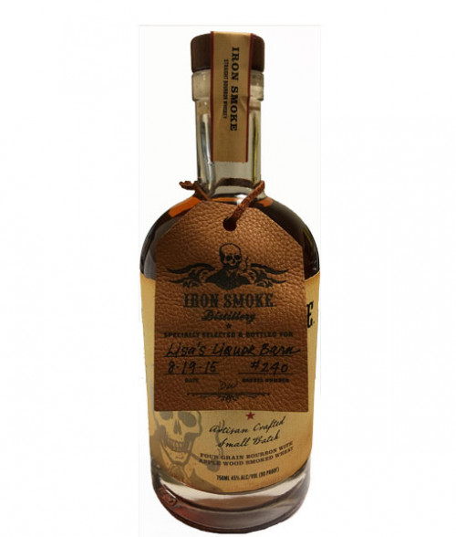 Iron Smoke Bourbon Lisa's Hand Selected Barrel 750Ml