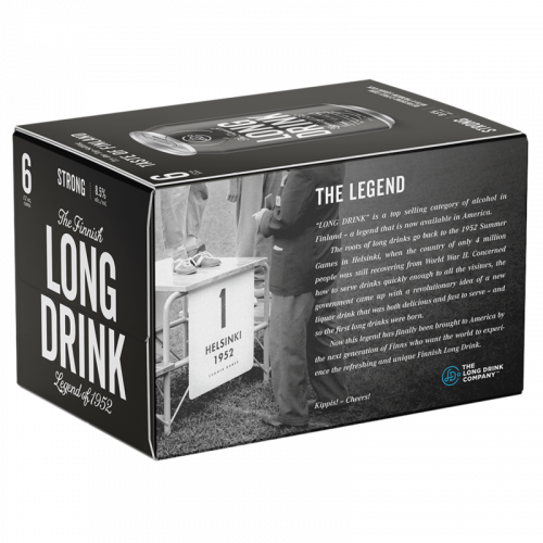 Long Drink Strong 6Pk - 12oz. Cans