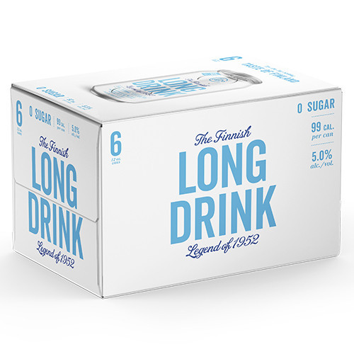 Long Drink Zero Sugar 6Pk - 12oz. Cans