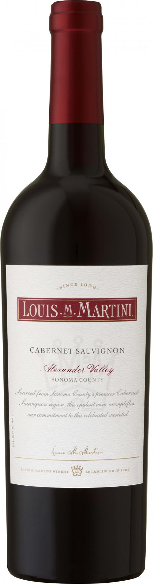 2017 Louis Martini Alexander Valley Cabernet Sauvignon 750ml