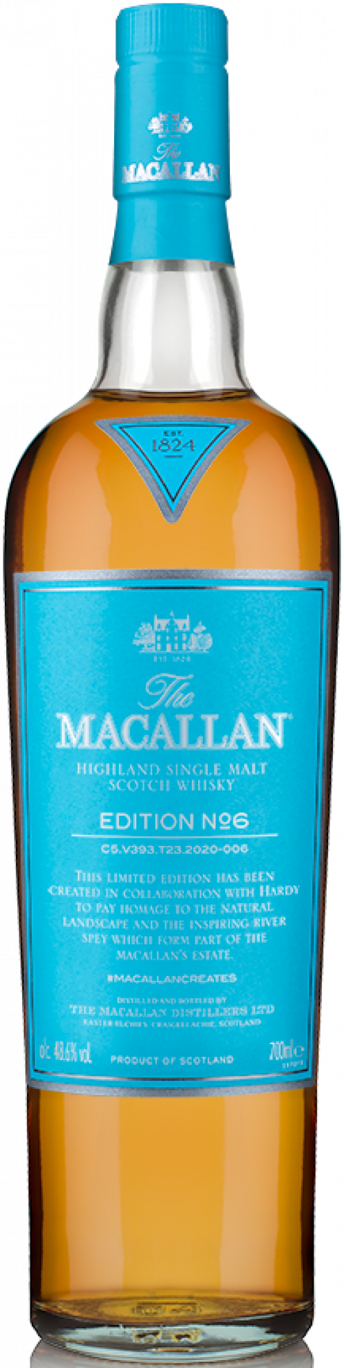 Macallan Limited Edition No. 6 Single Malt Scotch Whisky 750ml