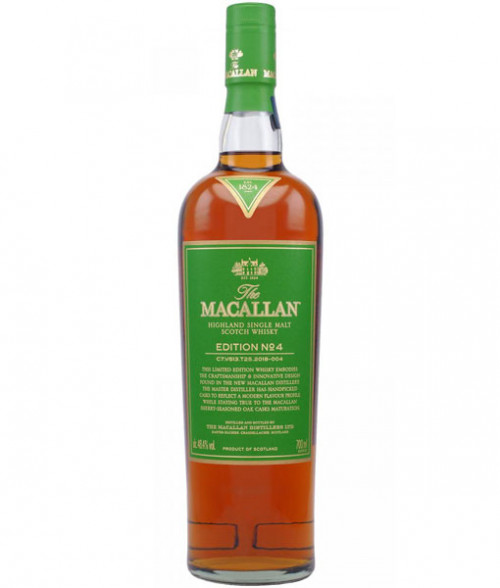 MaCallan No. 4 Limited Edition Highland Single Malt Scotch Whisky 750ml