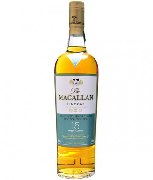 MaCallan Fine Oak 15Yr Highland Single Malt Scotch 750Ml