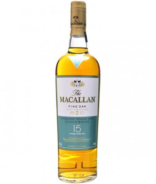 MaCallan Fine Oak 15Yr Highland Single Malt Scotch 750ml