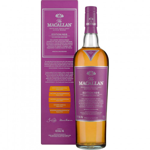 MaCallan Limited Edition No. 5 750ml