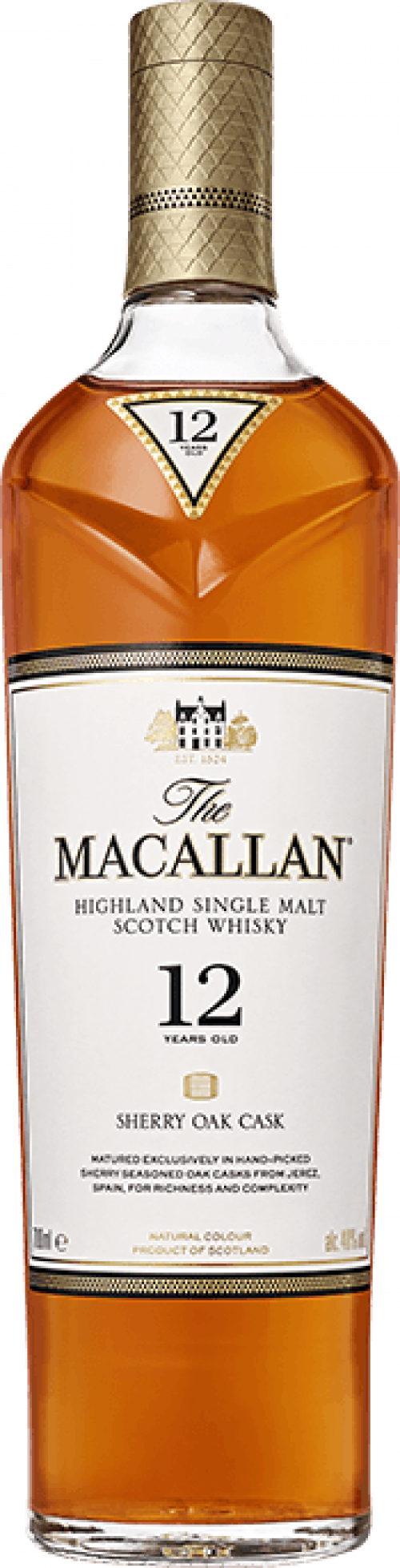 MaCallan Double Cask 12Yr Scotch Whisky 750Ml