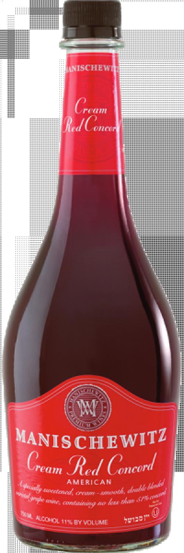 Manischewitz Cream Red Concord 750ml NV