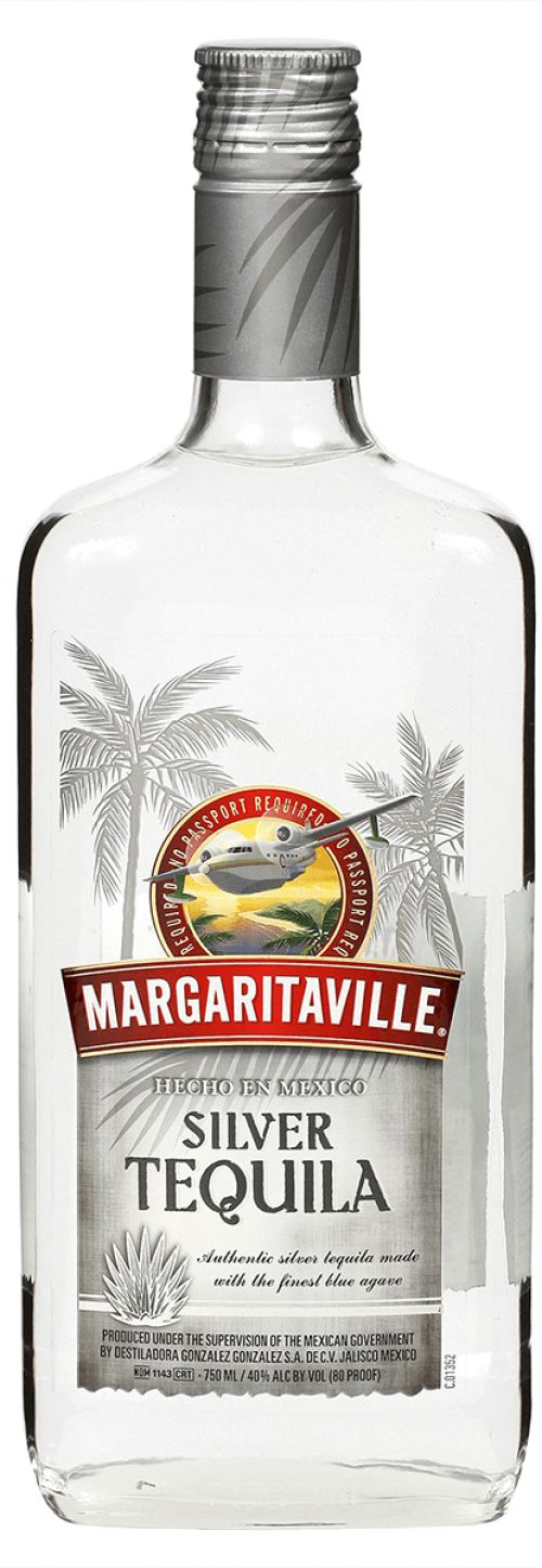 Margaritaville Silver Tequila 1L