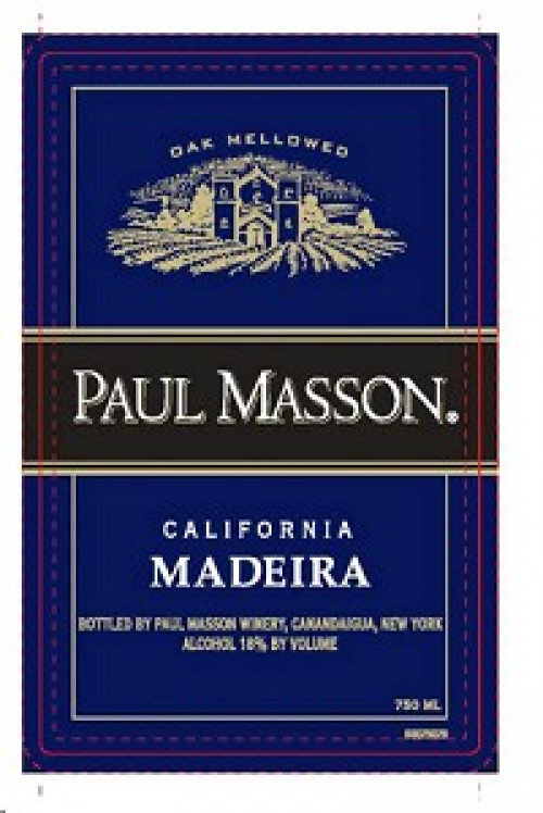 Paul Masson Madeira 750ml NV