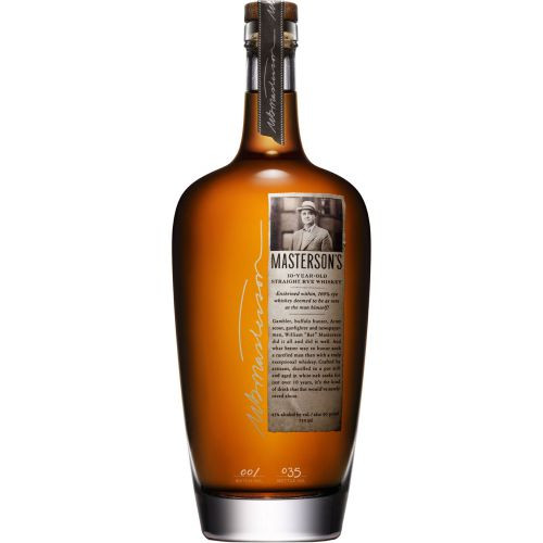 Mastersons 10Yr Straight Rye Whiskey 750ml