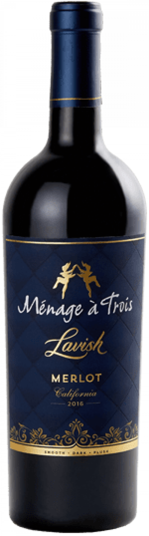 Menage A Trois Lavish Merlot 750ml NV