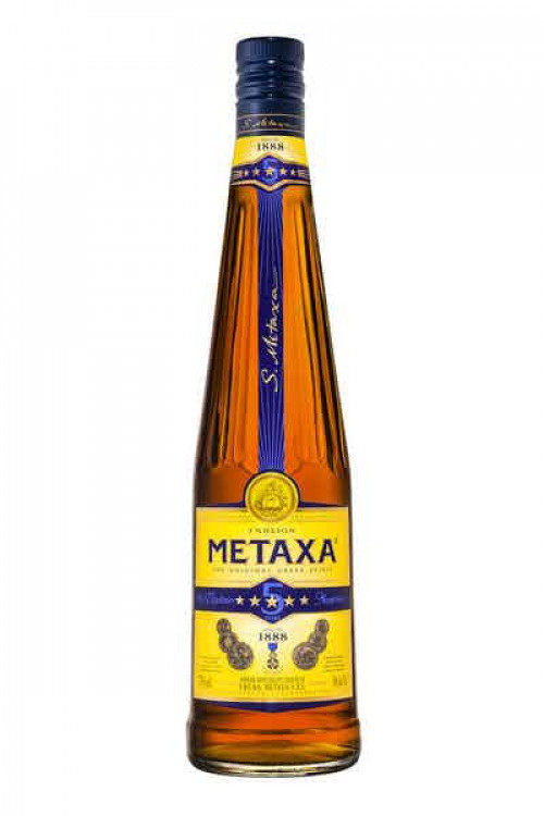 Metaxa 5 Star Brandy 750Ml