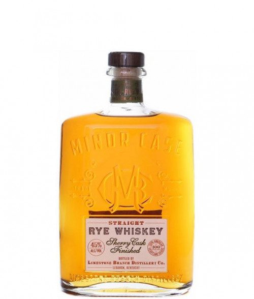 Minor Case Straight Rye Whiskey Sherry Cask 750ml