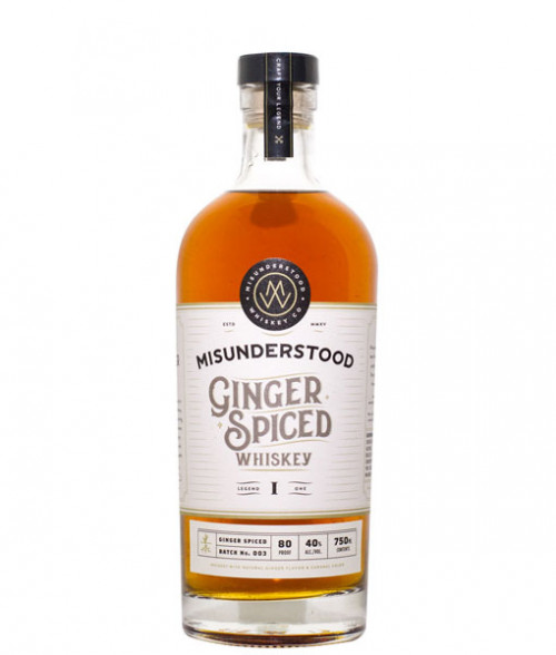 Misunderstood Ginger Spiced Whiskey 750ml