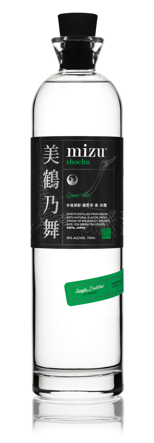 Mizu Shochu Green Tea 750Ml