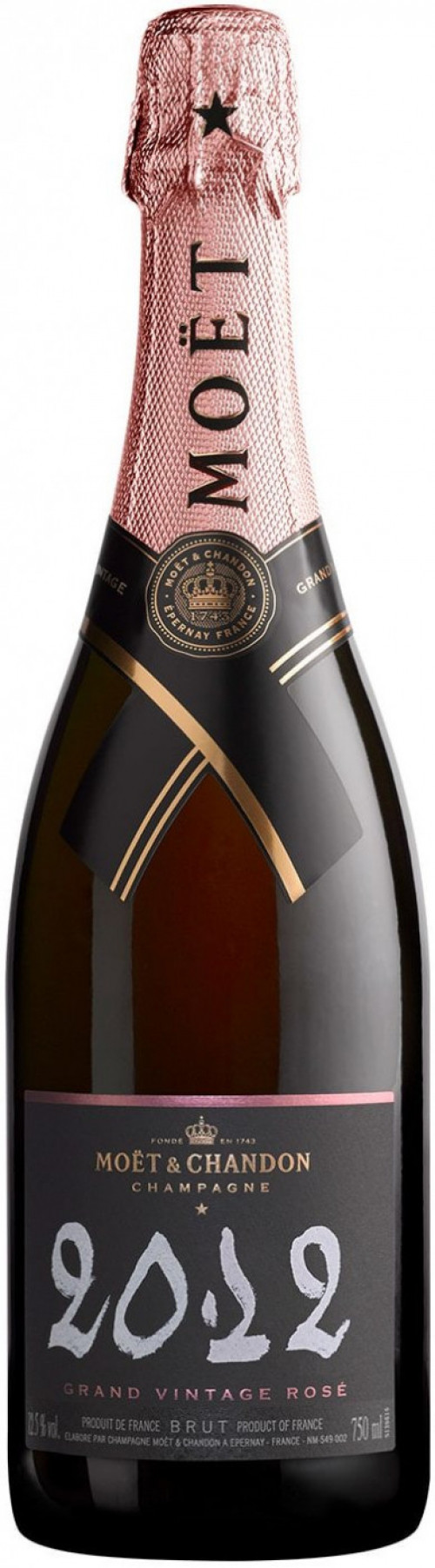 2012 Moet Rose Grand Vintage 750ml