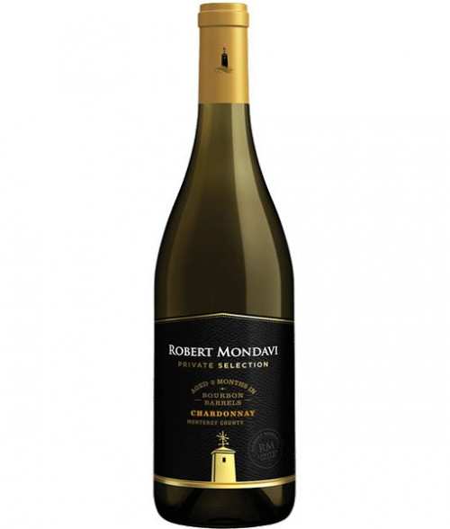 2018 Mondavi Private Selection Bourbon Barrel Chardonnay 750ml