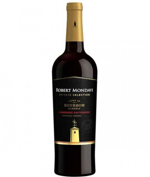 2017 Mondavi Private Selection Bourbon Barrel Cabernet Sauvignon 750ml