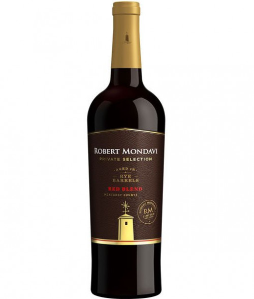 2017 Mondavi Private Selection Rye Barrel Aged Red 750ml