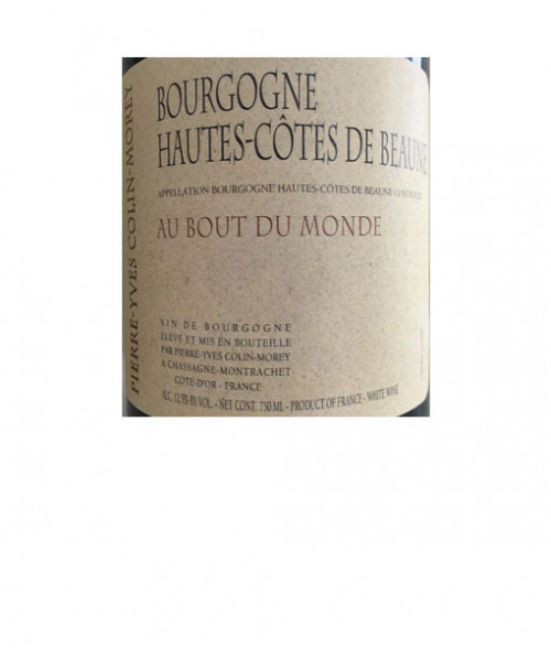 2018 Colin Morey Hautes-Cotes du Beaune Au Bout Du Monde 750ml