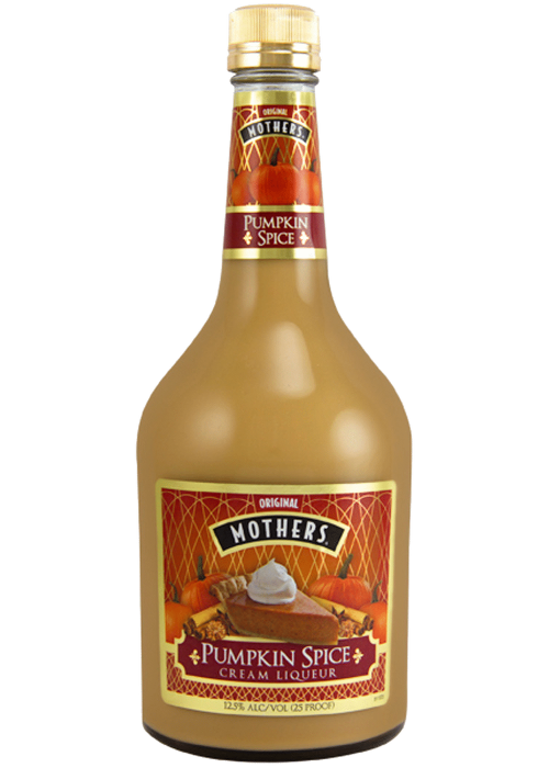 Mothers Pumpkin Spice Cream Liqueur 750ml
