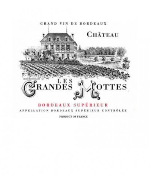 2018 Chateau Les Grandes Mottes 750ml