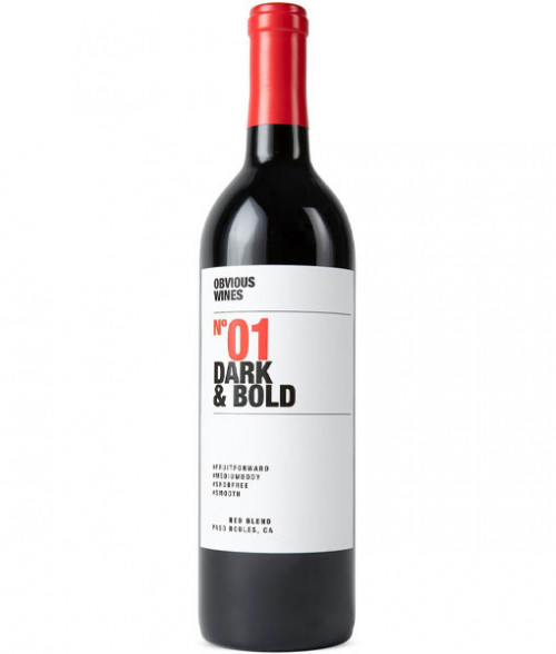 2017 Obvious Wines No 1 Red Blend 750ML