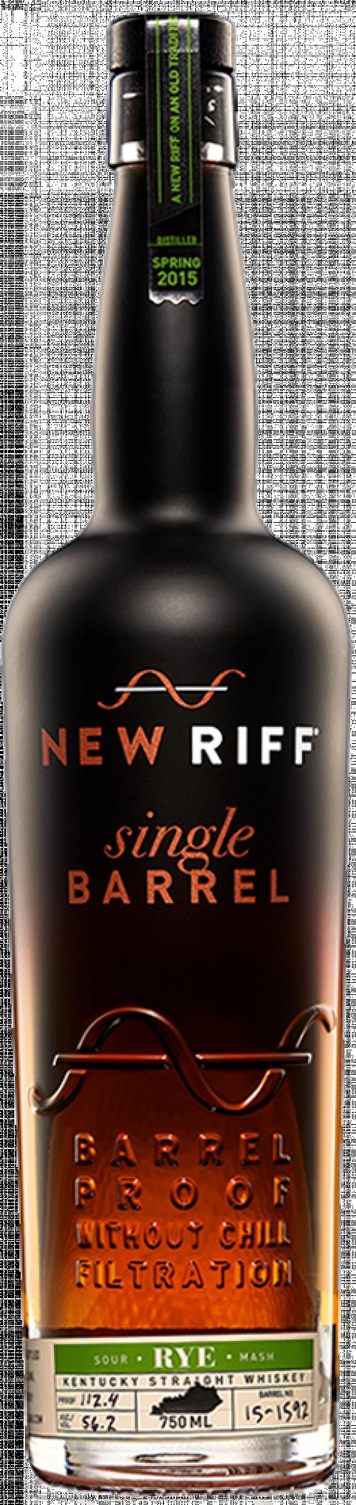 New Riff Single Barrel Rye Whiskey 750ml