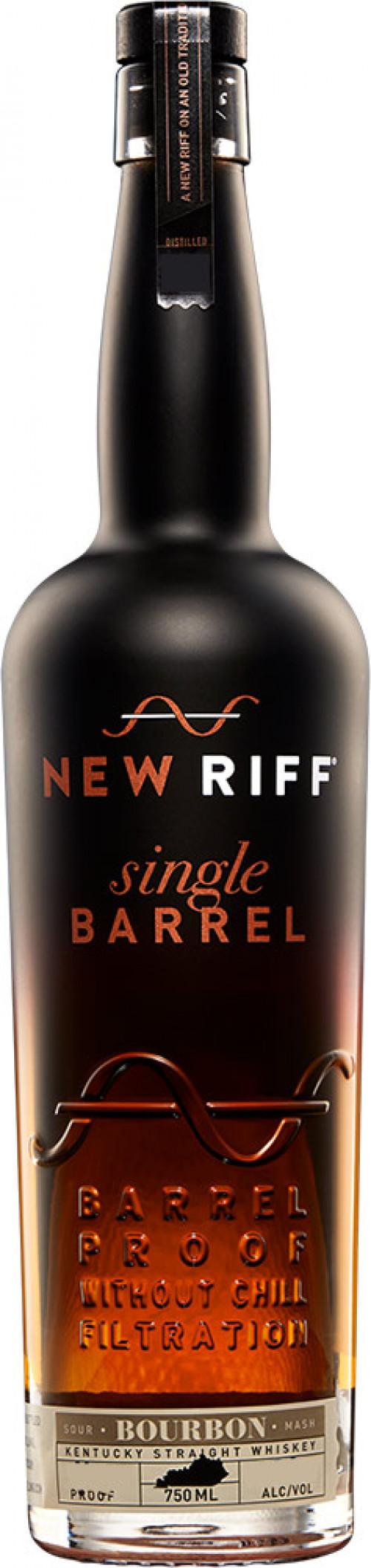 New Riff Single Barrel Bourbon 750ml