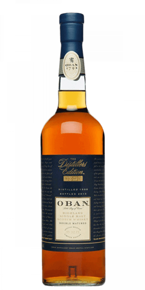 Oban Distiller's Edition Highland Single Malt Scotch 750ml