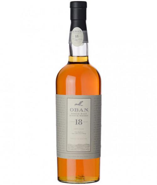 Oban 18Yr Single Malt Scotch 750ml