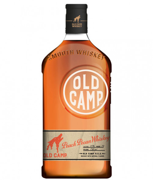 Old Camp Peach Pecan Flavored Whiskey 750ml