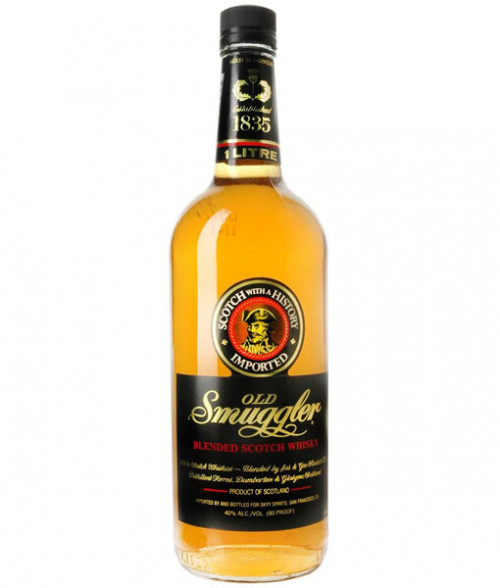 Old Smuggler Blended Scotch 1L