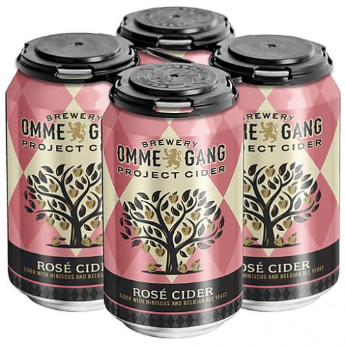 Ommegang Rose Cider 4Pk-12 oz. Cans