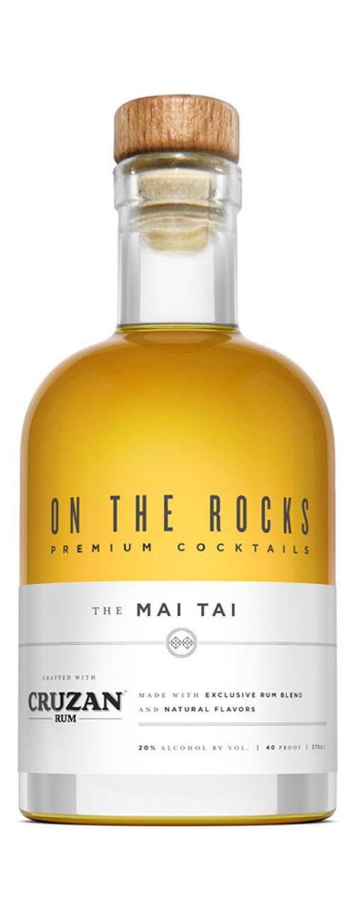 On The Rocks Mai Tai made with Cruzan Rum 375ml