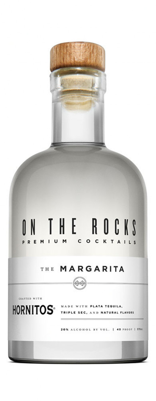On The Rocks Margarita made with Hornitos 375ml