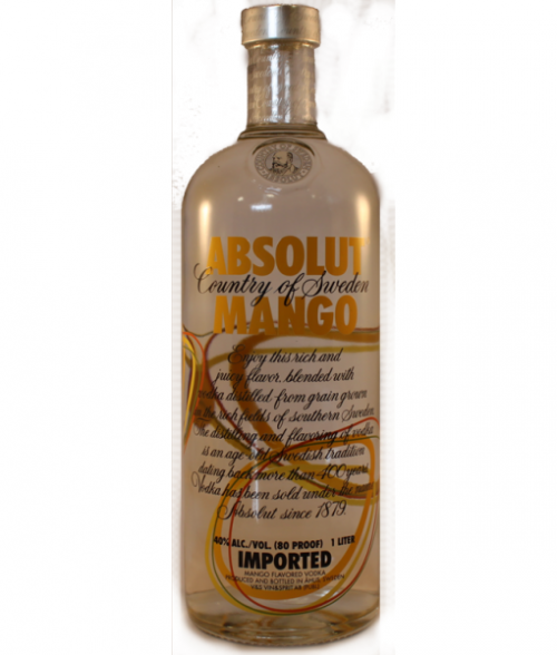Absolut Mango Vodka 1L