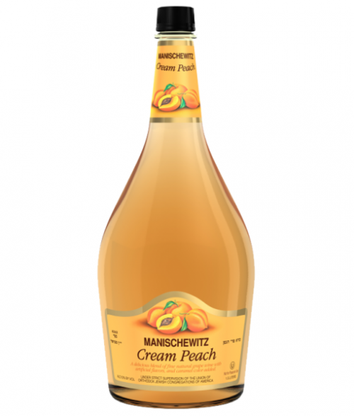 Manischewitz Cream Peach 1.5L NV