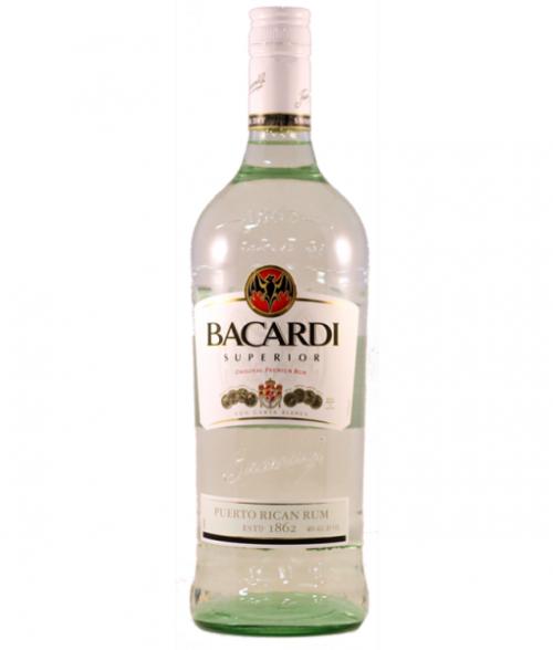Bacardi Superior Rum 1L