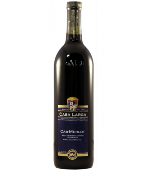 Casa Larga Cabernet/Merlot 750Ml NV