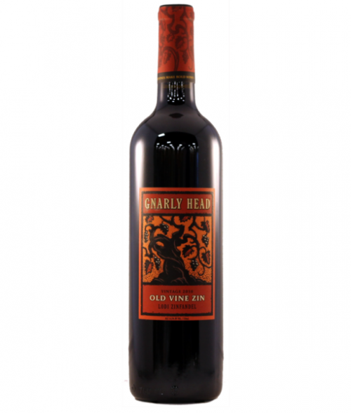 Gnarly Head Old Vine Zinfandel 750Ml NV
