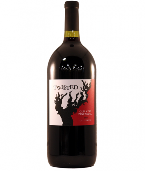 Twisted Old Vine Zinfandel 750ml NV